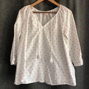 Easy white blouse